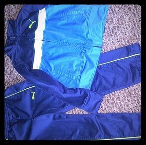 Boys size 5 Puma track suit